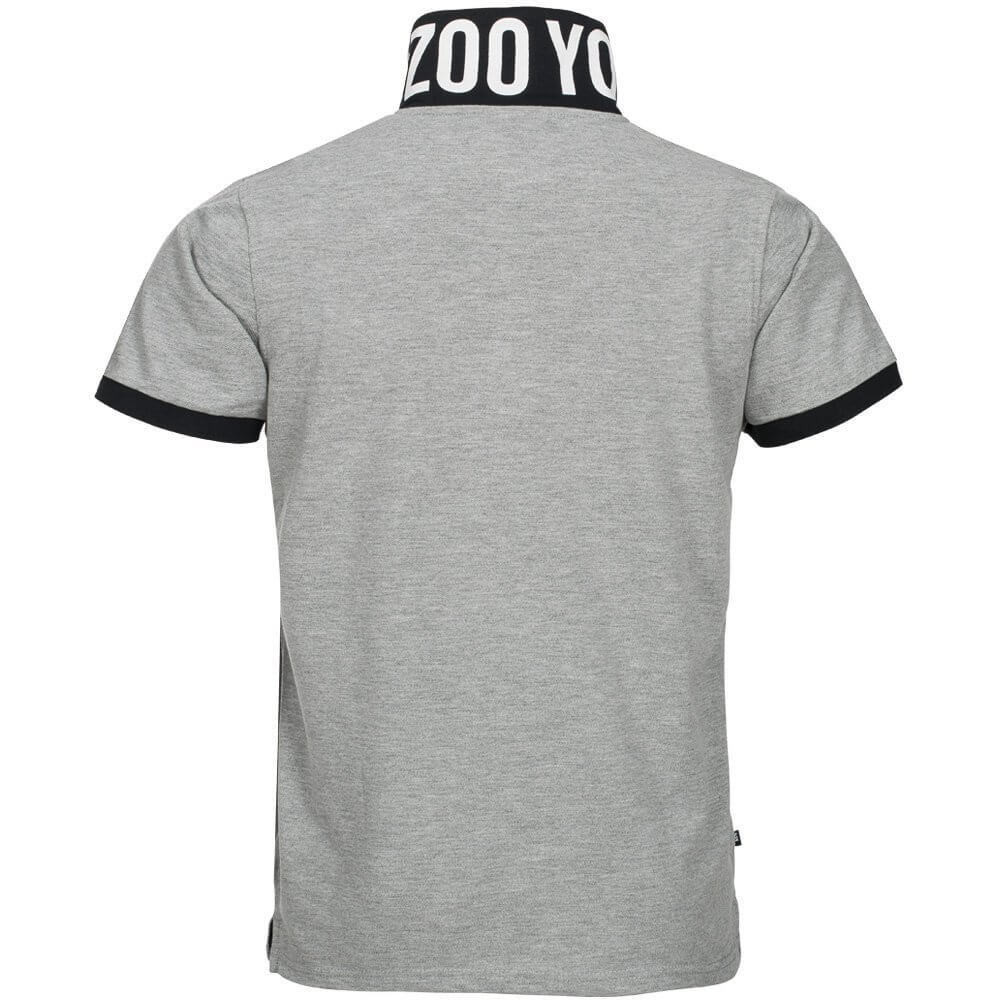 5e7f7341121 ... canada zoo york mens tower polo shirt atheletic grey marl 2ff55 00ada