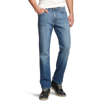 1d133a4c Wrangler Jeans Texas Stretch Denim Worn Broke Blue. Double tap to zoom