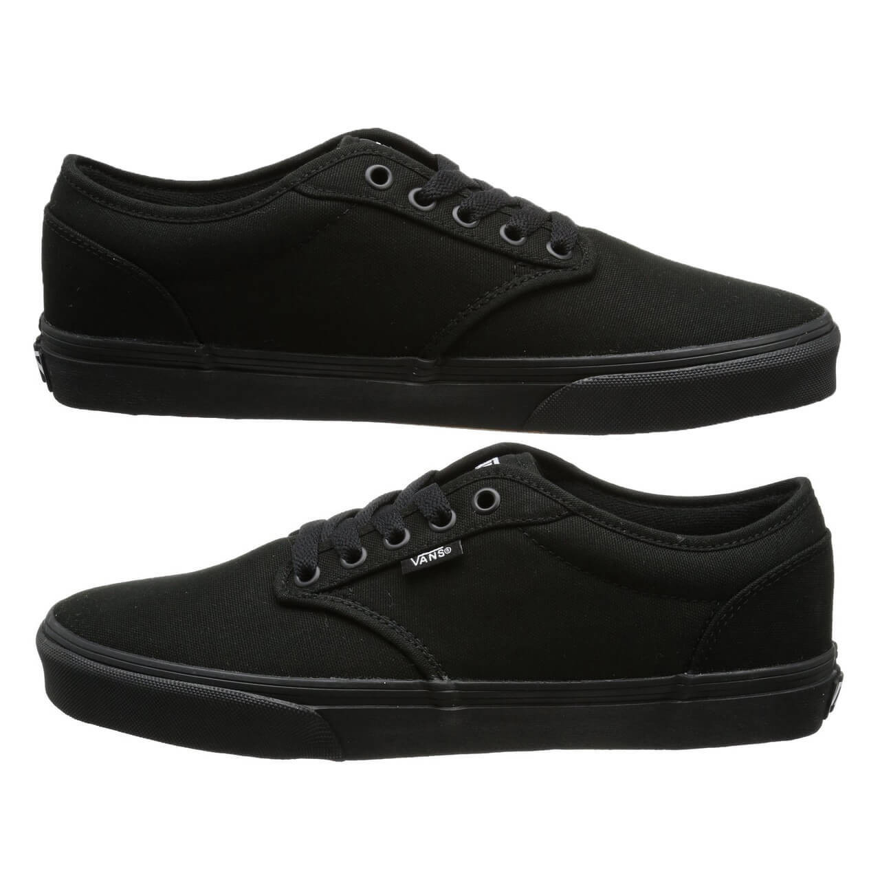 25b3f0a2c45 Vans Atwood Canvas Trainers Black Image VANS Atwood Canvas Trainers Black  ...