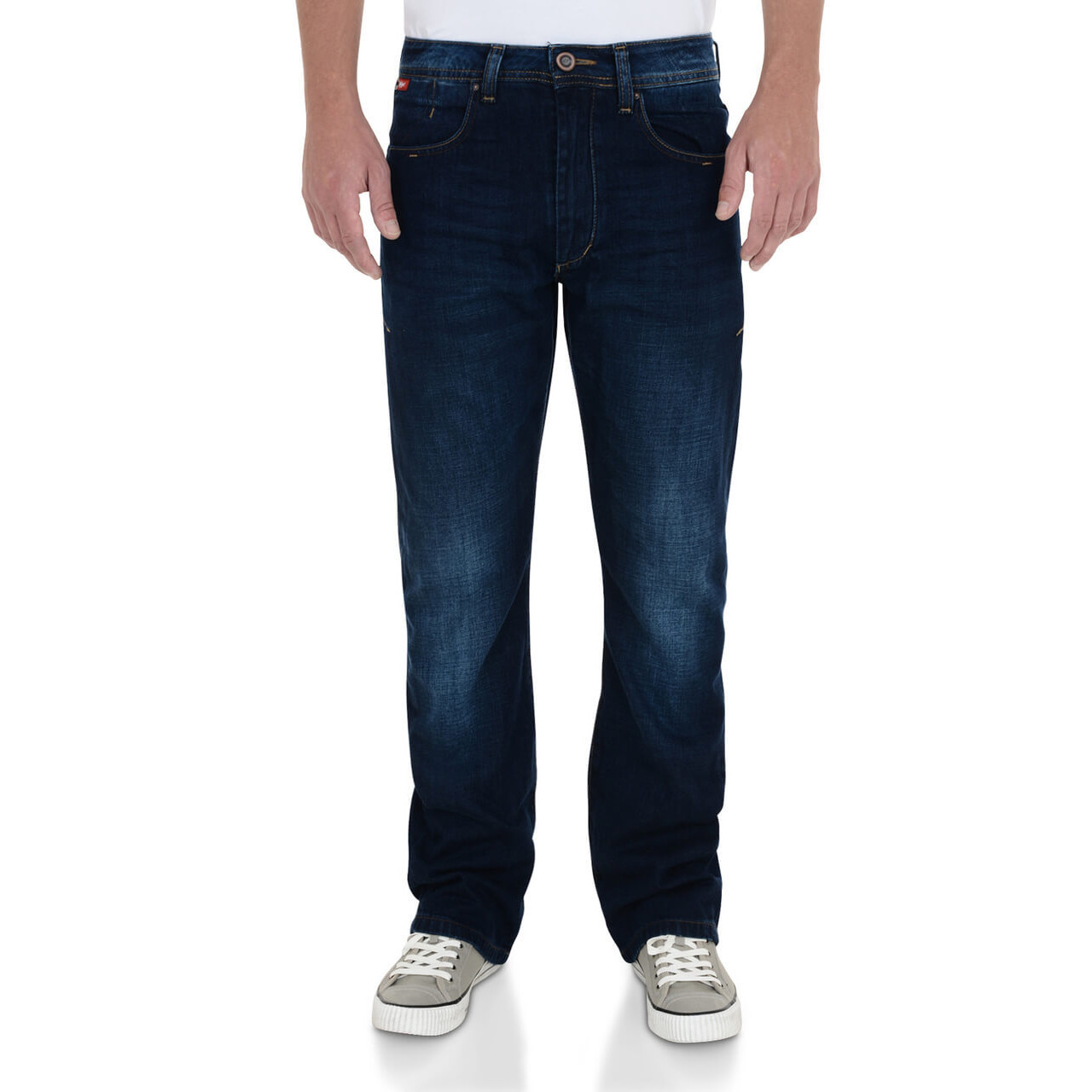 4a0f31c6 Lee Cooper Carter Bootcut Jeans Faded Dark Wash Blue Image. Double tap to  zoom