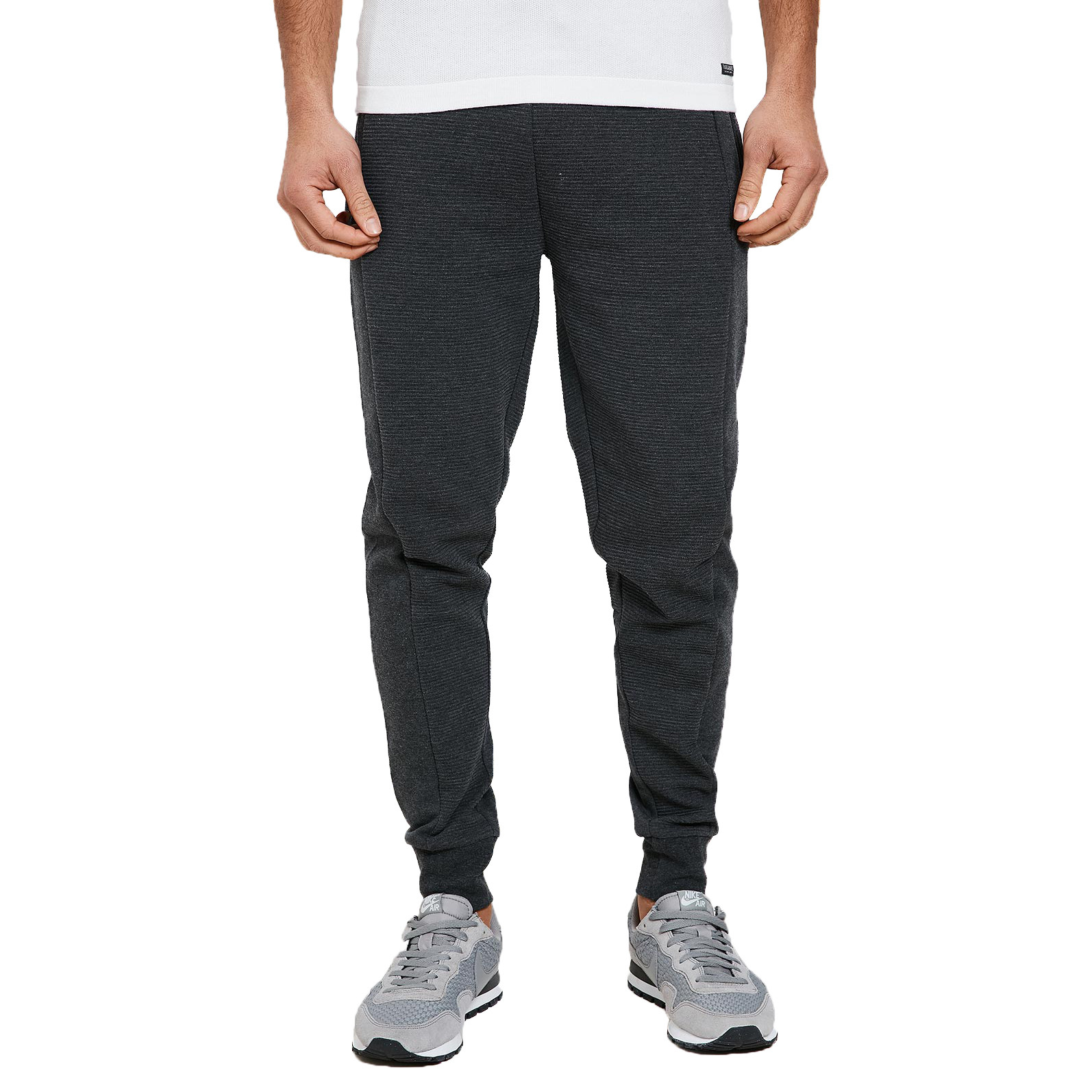 purchase cheap 4eafe e9b15 Threadbare Ottoman Jogging Joggers Charcoal Marl Pants   Jean Scene