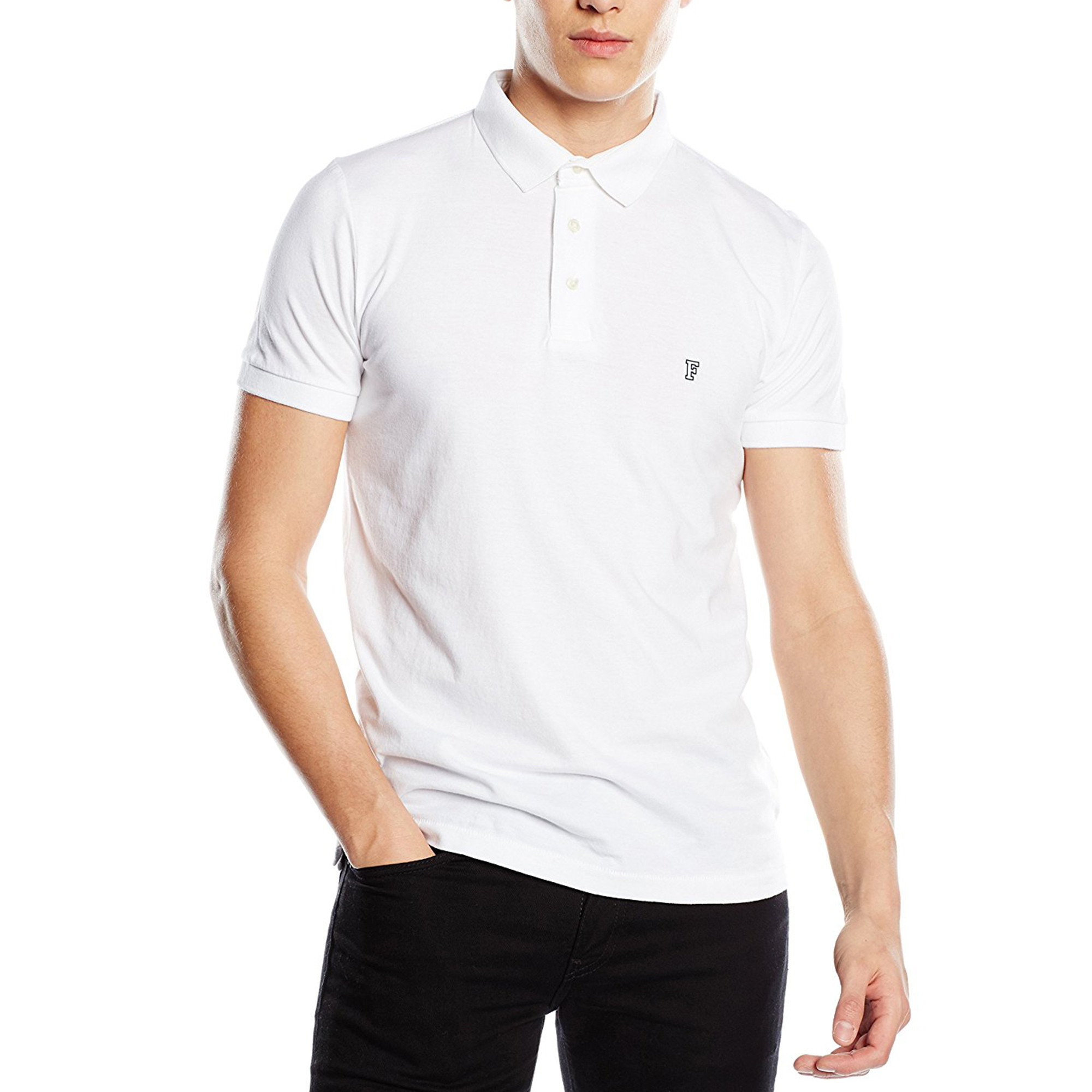 Buy Cheap Footlocker Finishline Mens Basic Sneezy F Logo Polo Shirt French Connection Outlet Sast Low Price Fee Shipping Sale Online Outlet New C7QTgQLp35