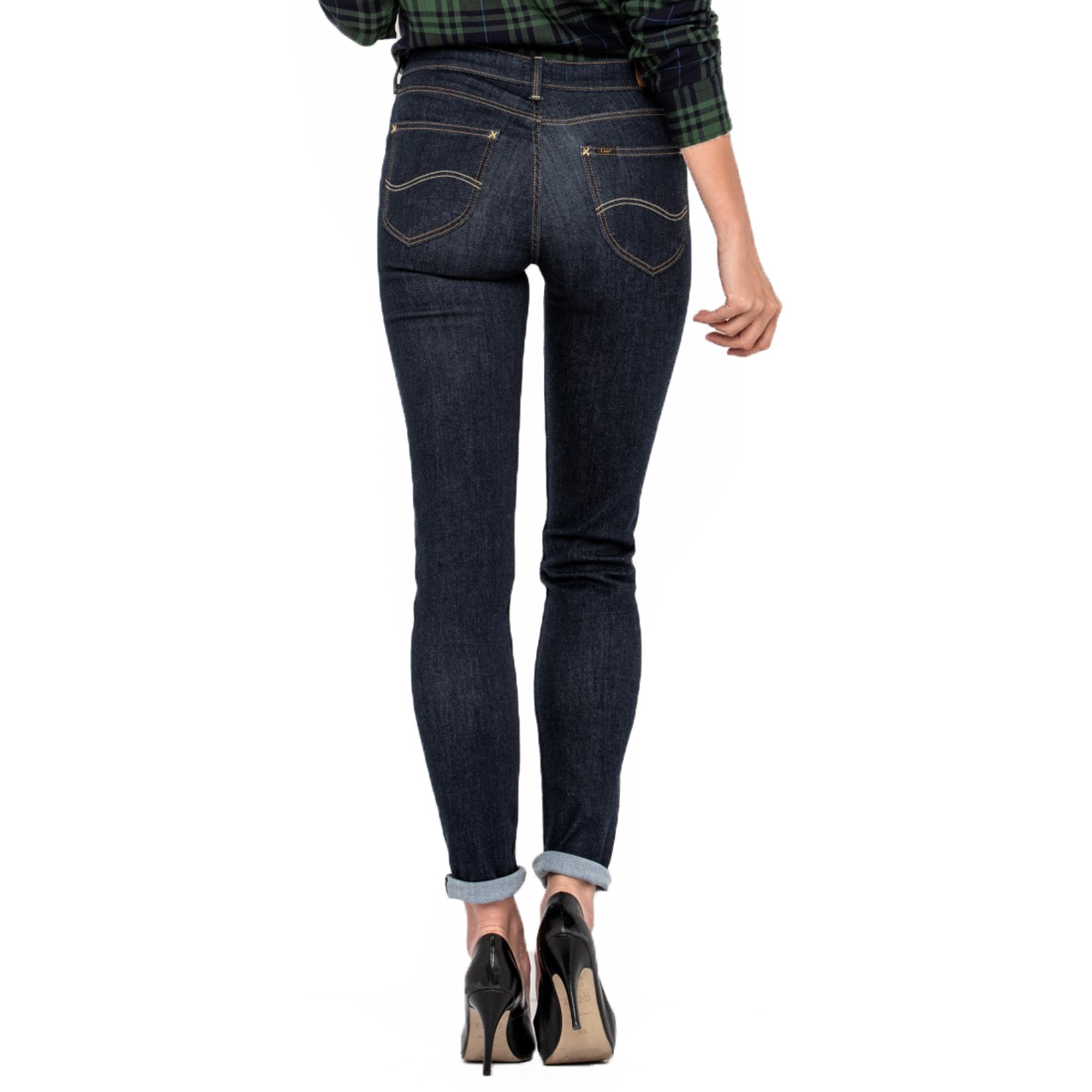 discover latest trends top-rated fashion double coupon Lee Scarlett Skinny Stretch Jeans Rinse