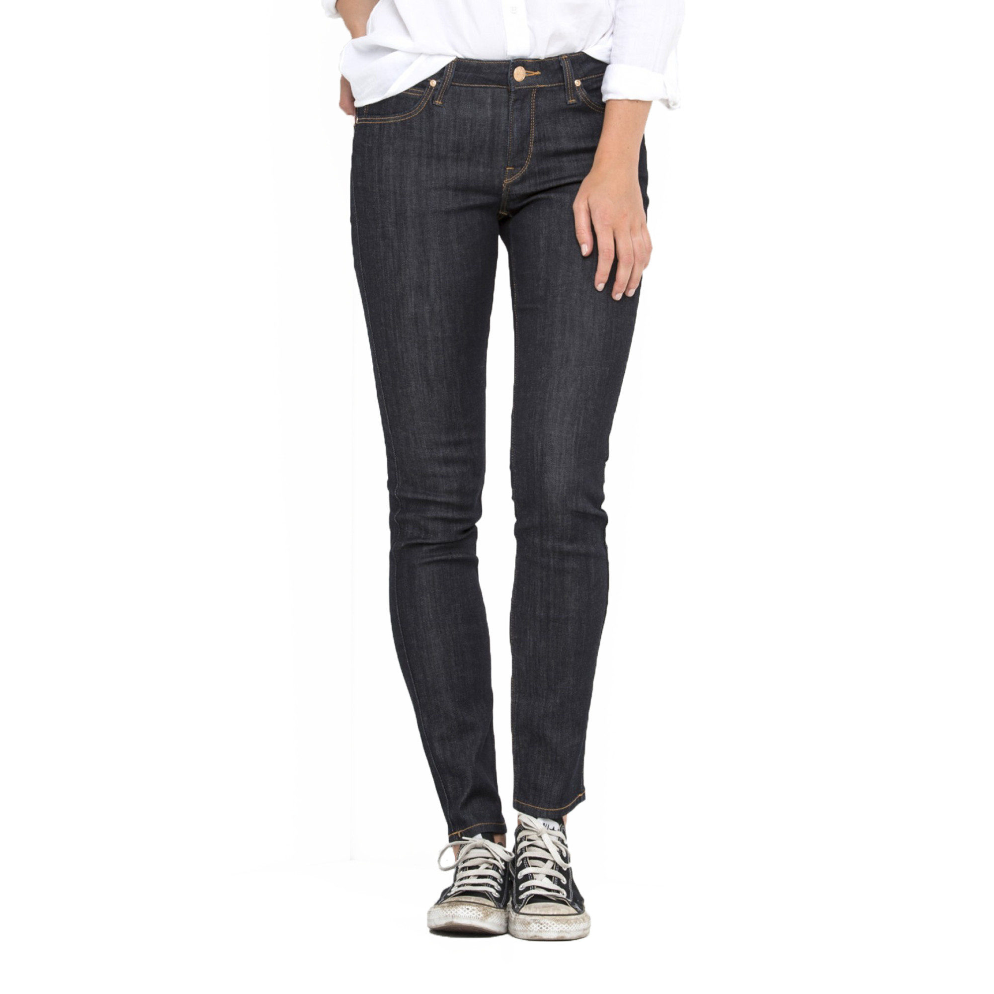 super cheap super cheap compares to purchase cheap Lee Scarlett Regular Skinny Stretch Jeans One Wash