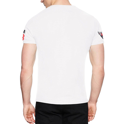 Superdry Famous Flyers Logo T Shirt Optic
