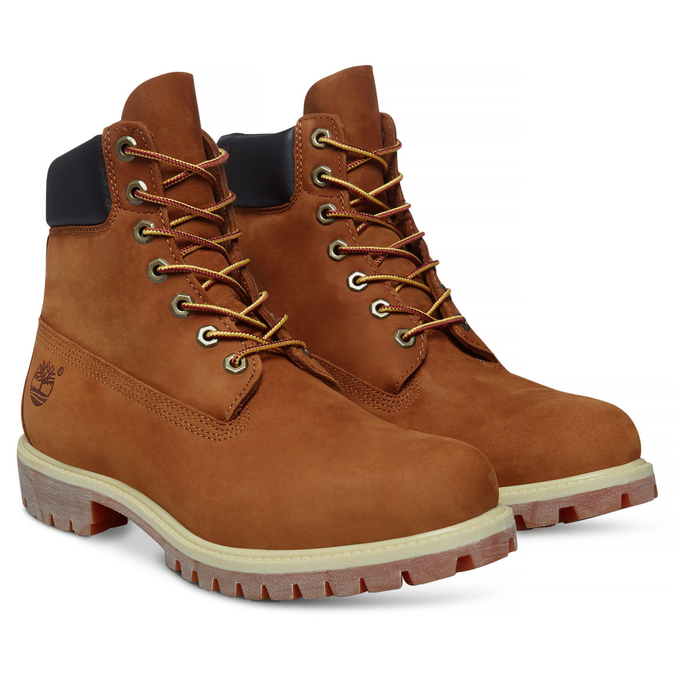 f0b333caf776 Timberland Mens Premium 6 Inch Leather High Boots Boots Rust Orange ...