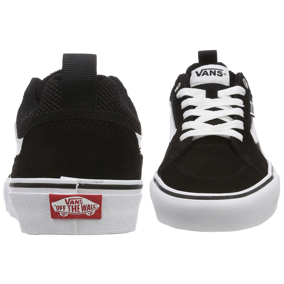b88b7b6412b2 Vans Men s Filmore Suede Shoes Black White