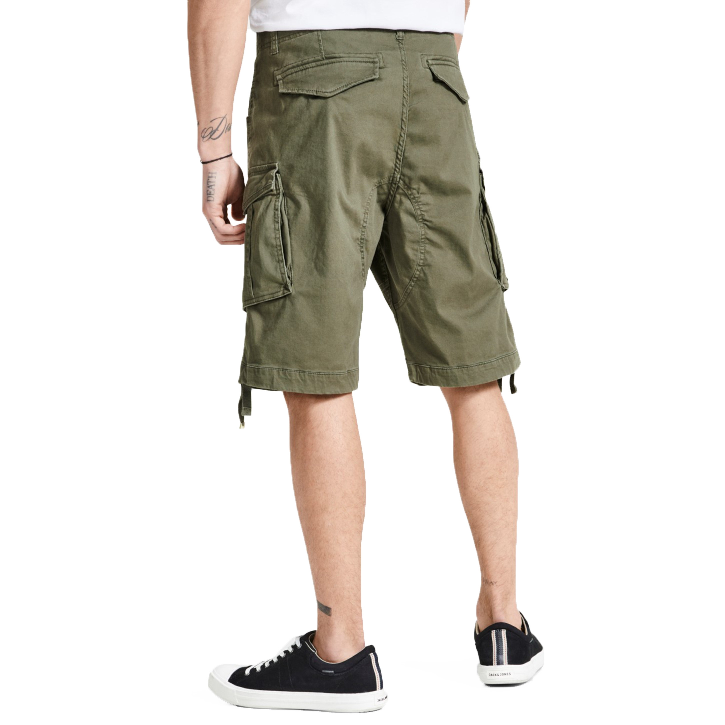 e05c284aae487 Jack & Jones Men's Intelligence Cargo Shorts Olive Night | Jean Scene