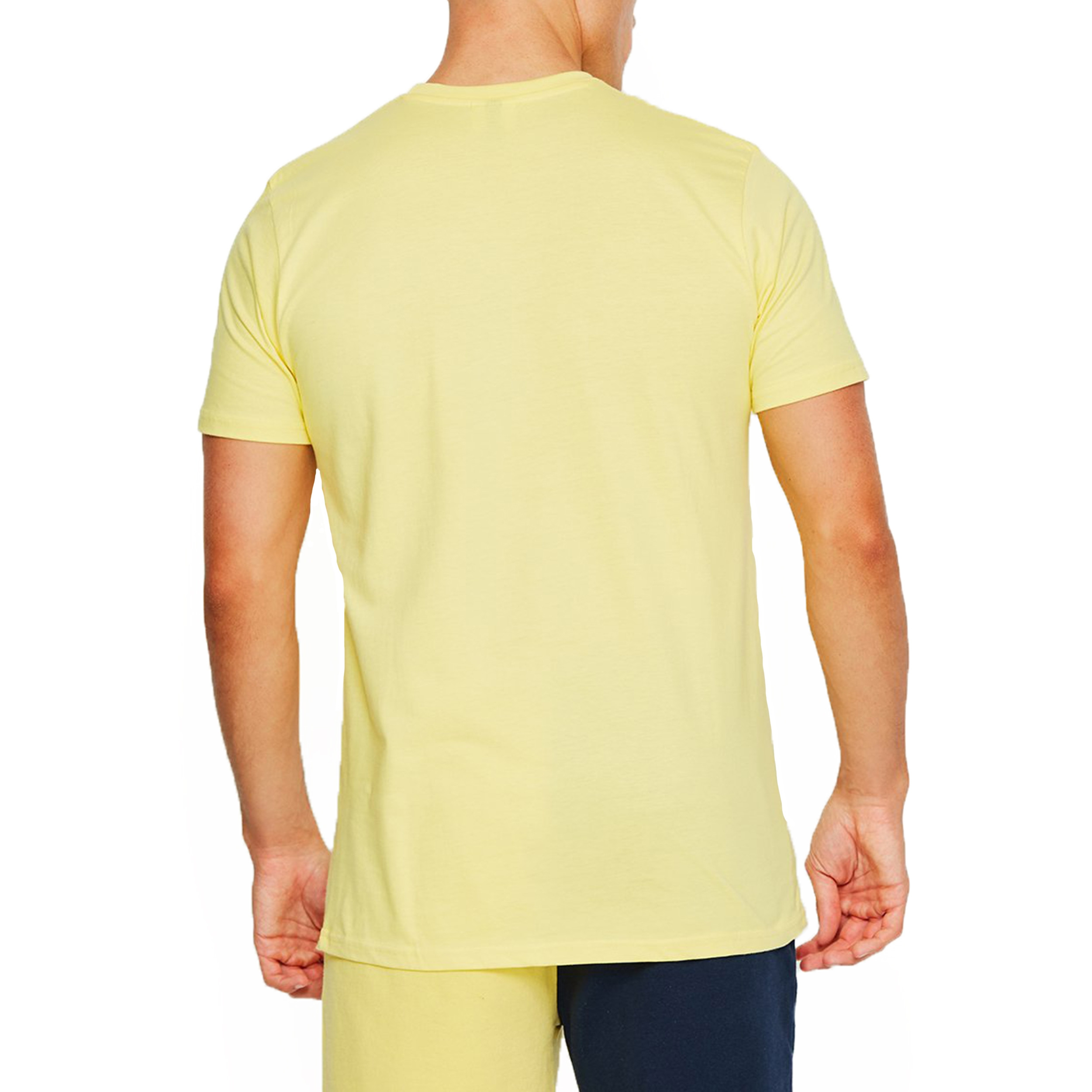 c0792a061 Ellesse Logo T-Shirt Short Sleeve Light Yellow | Jean Scene