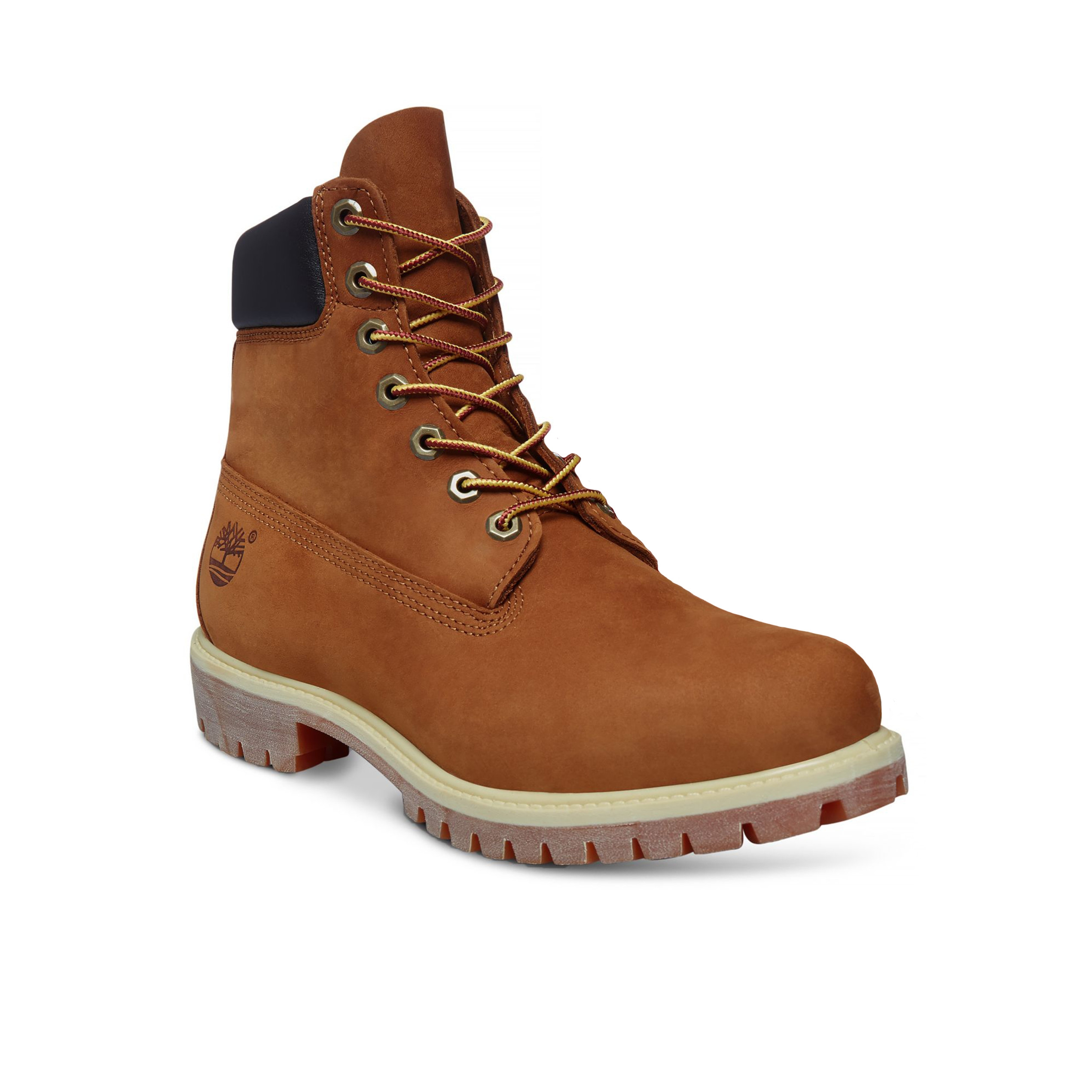 a7bddb481ca Timberland Premium 6 Inch Leather High Boots Rust Orange