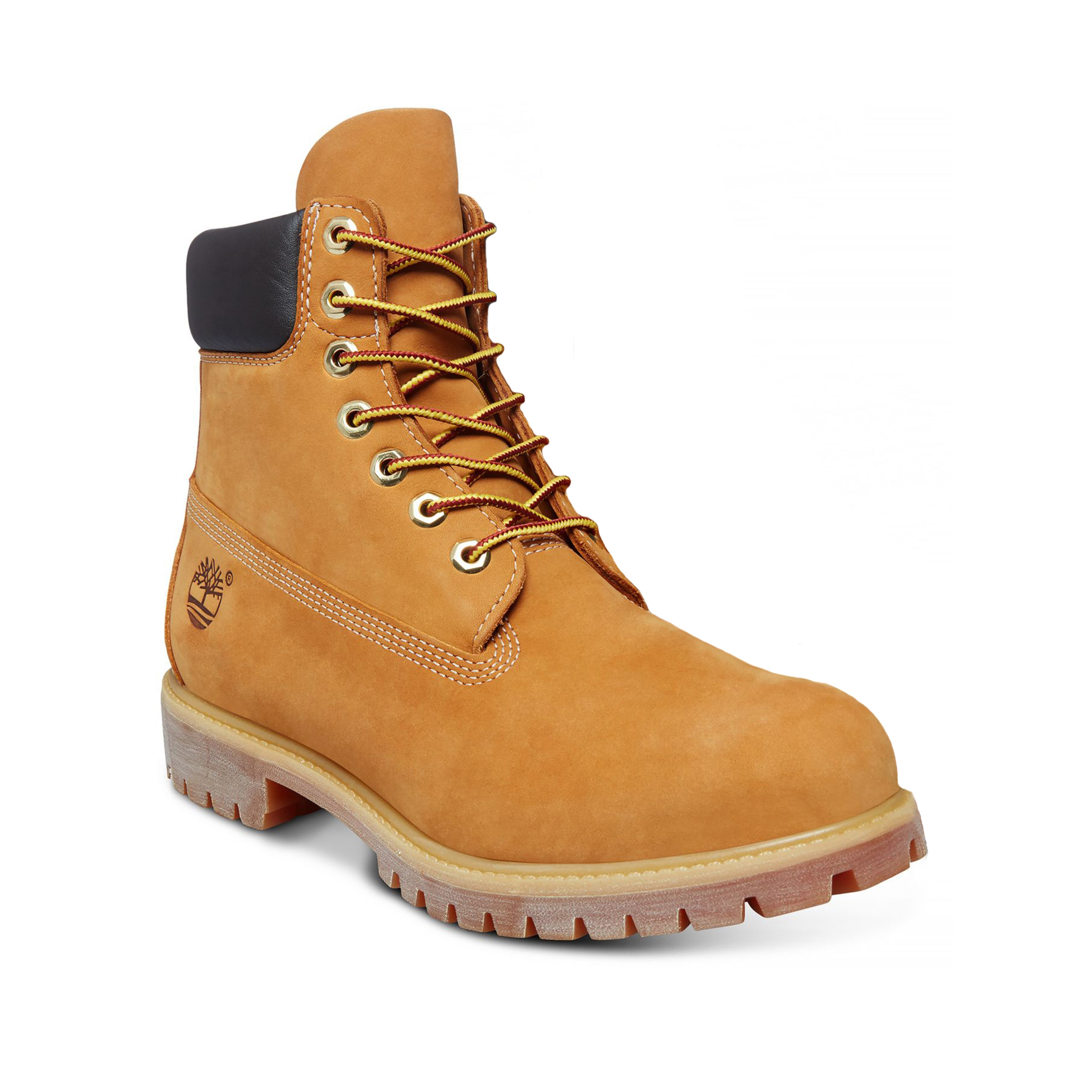 5bedd18685c Timberland Premium 6 Inch Leather High Boots Wheat Yellow