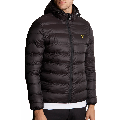 Lyle   Scott Men s Casual Jacket True Black  3bb7766dc283