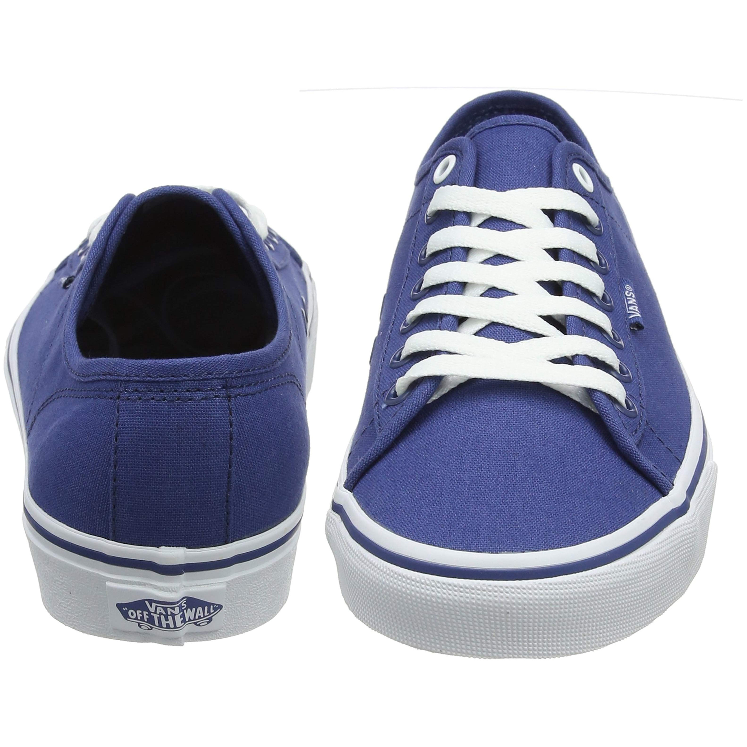 fd50d40b36 Vans Men s Ferris Low Canvas Shoes Trainers Navy White