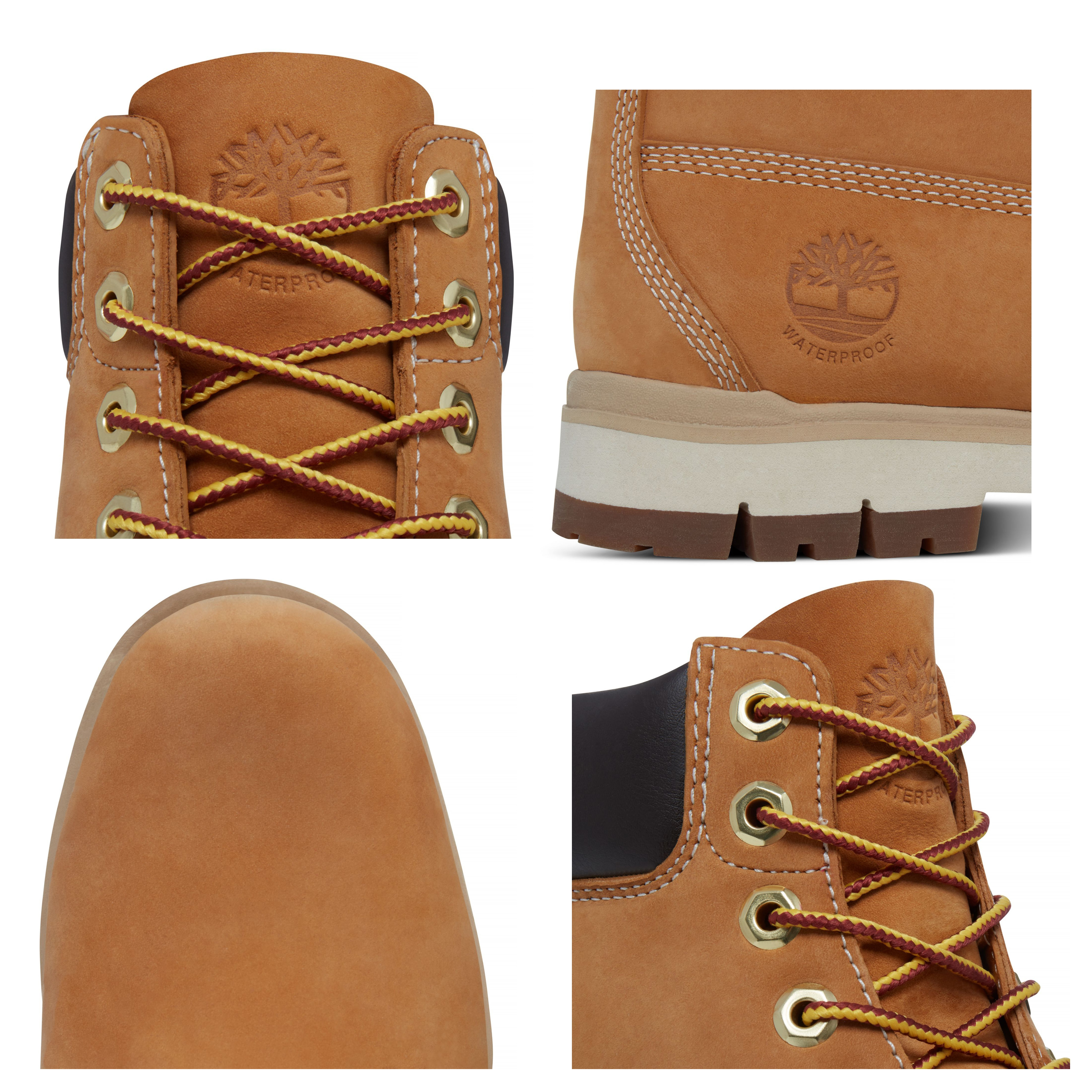 Timberland Mens Radford 6 Inch Leather High Boots Boots