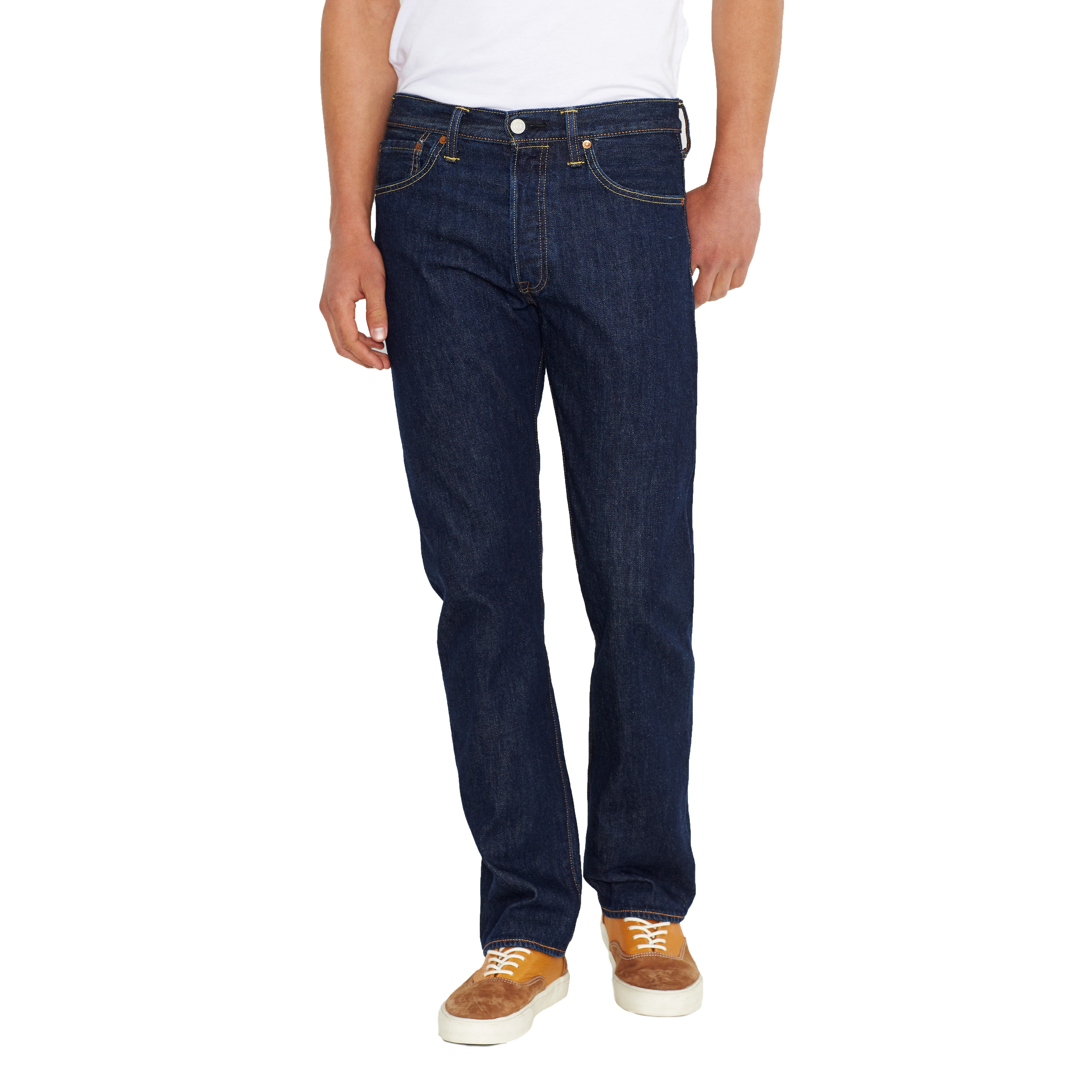501 Original Fit Mens Jeans, Blue (Onewash), 32W x 32L Levi's