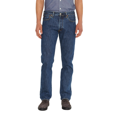 Levis 501 Denim Jeans Stonewash Blue   Jean Scene 3f9cff0e4c