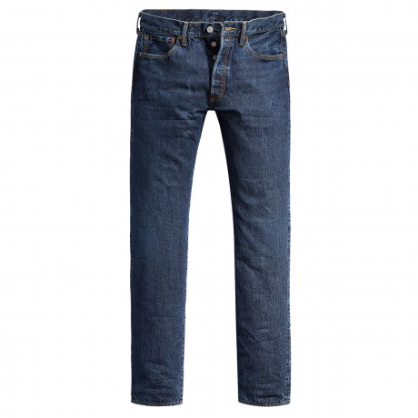 Levis 501 Denim Jeans Dark Blue Luther Blue | Jean Scene