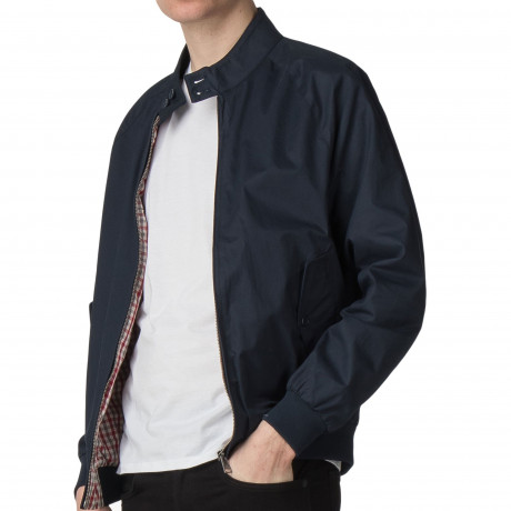 Ben Sherman Harrington Script Jacket Dark Navy | Jean Scene