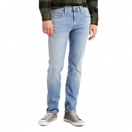 Levis 511 Denim Jeans Light Blue Sun Fade | Jean Scene