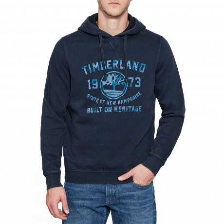 Timberland Men's Fort Hill Sweatshirt Dress Blue | Jean Scene