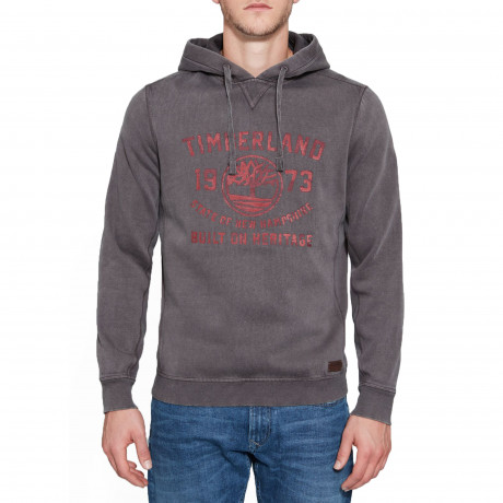 Timberland Men's Fort Hill Sweatshirt Dark Grey | Jean Scene