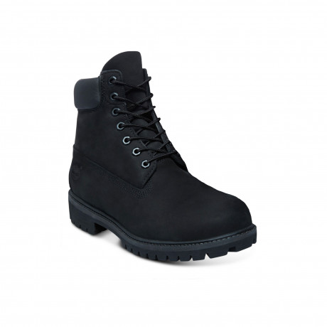Timberland Mens Premium 6 Inch Leather High Boots Boots Black Black | Jean Scene