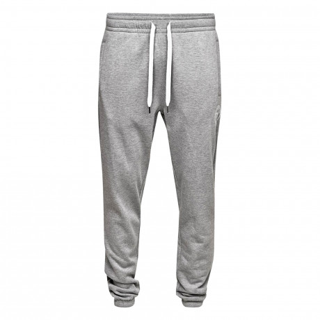 Jack & Jones Men's Core Chris Sweat Jogging Joggers Grey Melange Pants | Jean Scene