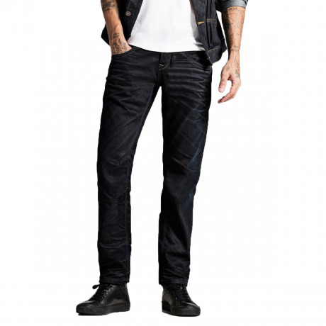 Jack & Jones Boxy Original Loose Fit Denim Jeans Dark Blue | Jean Scene