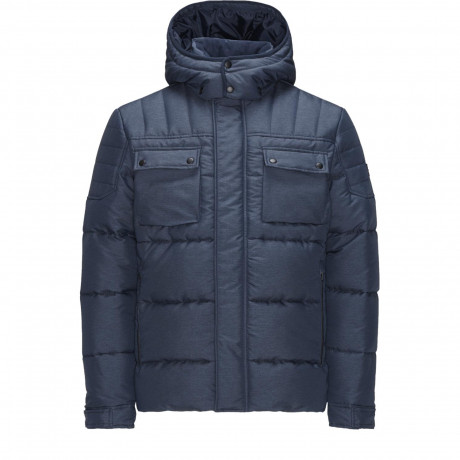 Jack & Jones Padded Puffer Jacket Navy Blazer | Jean Scene