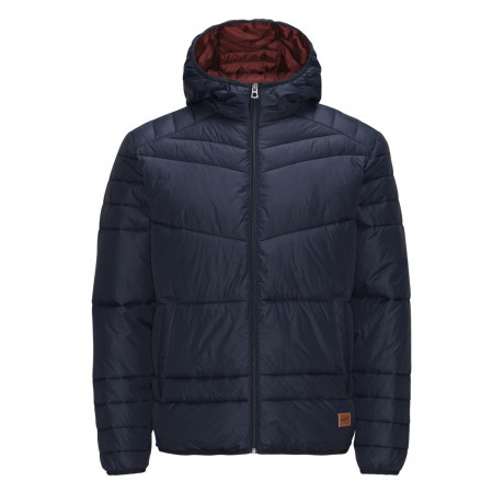 Jack & Jones Originals Quilted Puffer Jacket Navy Blazer | Jean Scene