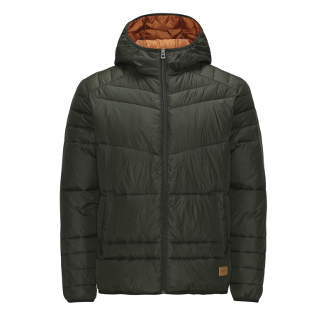 Jack & Jones Originals Quilted Puffer Jacket Rosin | Jean Scene