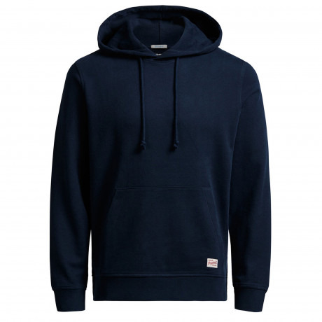 Jack & Jones Men's Wind Overhead Hoodie Navy Blazer | Jean Scene