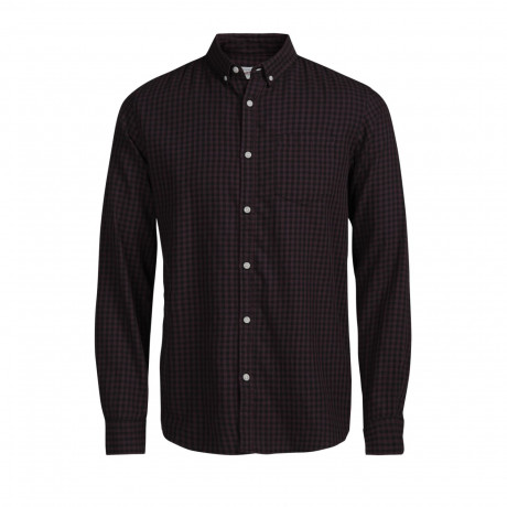 Jack & Jones James Check Shirt Long Sleeve Port Royale | Jean Scene