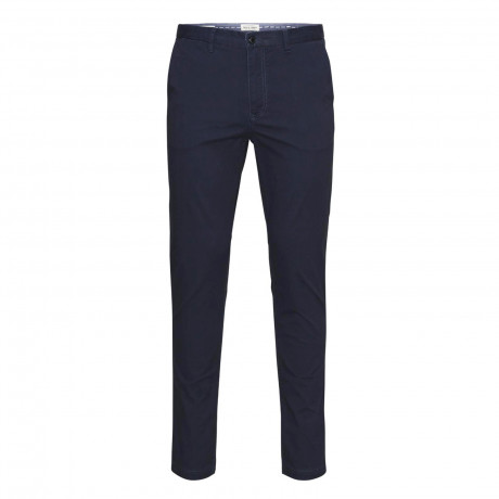 Jack & Jones Marco Slim Fit Cotton Chinos Navy | Jean Scene