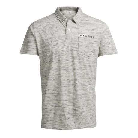 Jack & Jones Core Polo Pique T-Shirt Blanc | Jean Scene