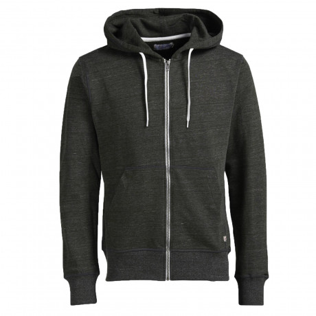 Jack & Jones Men's Storm Zip Up Hoodies Rosin | Jean Scene