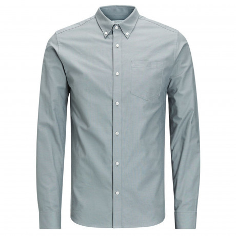 Jack & Jones Premium Jamie Shirt Long Sleeve Balsam Green | Jean Scene