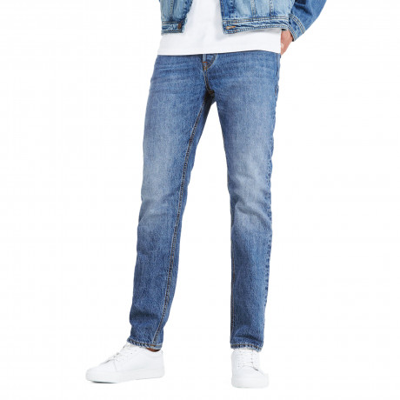 Jack & Jones Mike Original Comfort Fit Denim Jeans Light Blue | Jean Scene