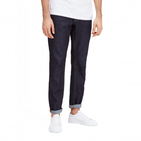 Jack & Jones Mike Original Comfort Fit Denim Jeans Dark Blue | Jean Scene