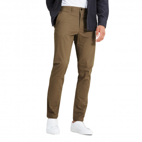 Jack & Jones Marco Enzo Slim Fit Cotton Chinos Tan | Jean Scene