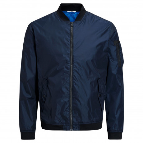 Jack & Jones Fashion MA1 Lightweight Jacket Sky Captain Blue | Jean Scene