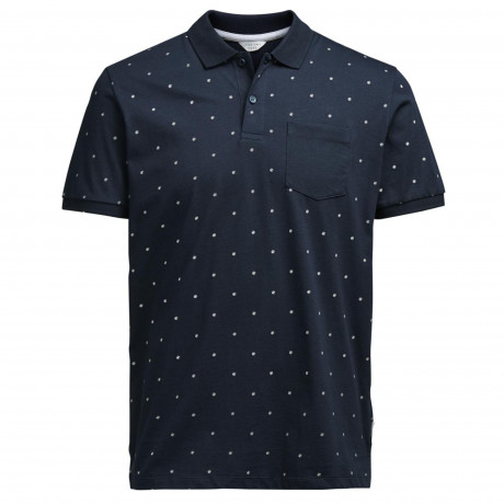 Jack & Jones Core Polo Pique Shirt Sky Captain | Jean Scene
