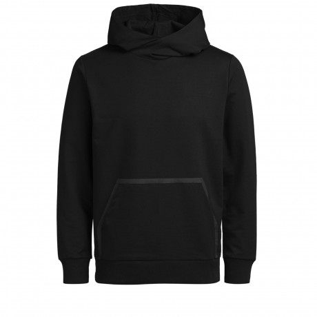 Jack & Jones Overhead Men's Wallen Hoodie Black | Jean Scene