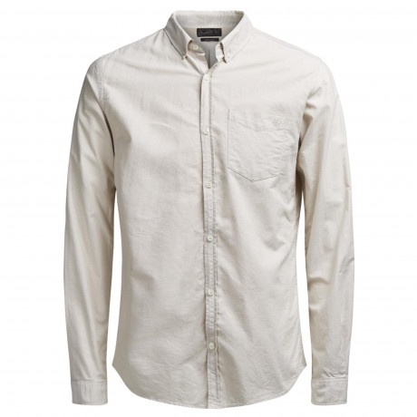 Jack & Jones Originals Cutback Shirt Long Sleeve Nomad | Jean Scene