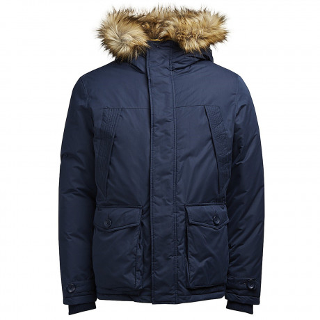 Jack & Jones Parka Padded Jacket Total Eclipse | Jean Scene