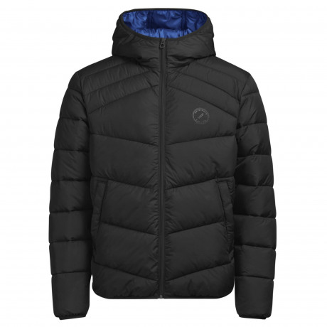 Jack & Jones Quilt Padded Jacket Black | Jean Scene