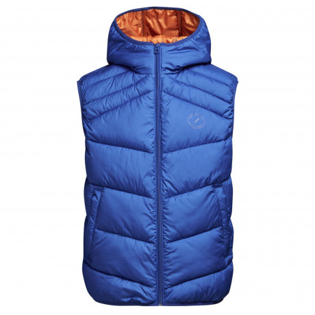 Jack & Jones Quilt Padded Gilet Body Warmer True Blue | Jean Scene