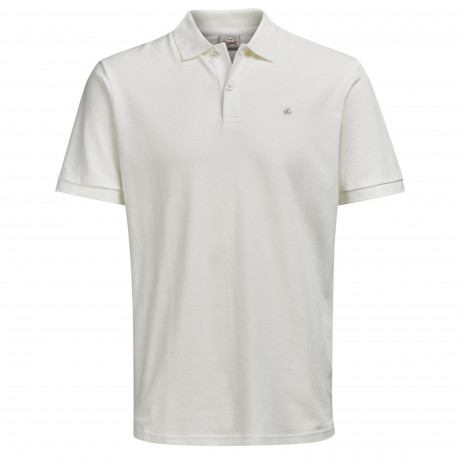 Jack & Jones Polo Shirt Cloud Dancer | Jean Scene