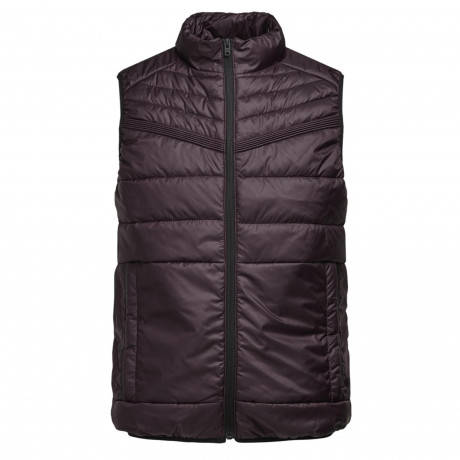 Jack & Jones Quilt Padded Gilet Body Warmer Fudge | Jean Scene