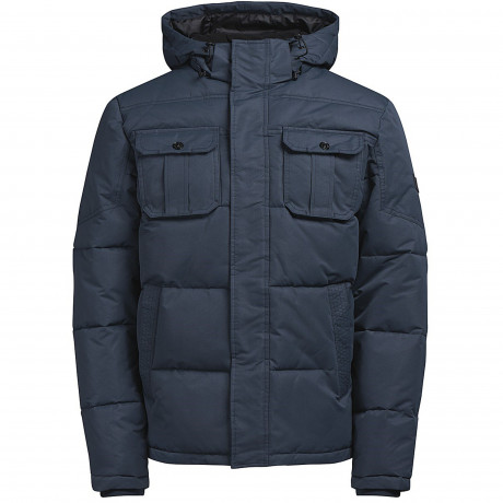 Jack & Jones Winter Padded Jacket Sky Captain | Jean Scene
